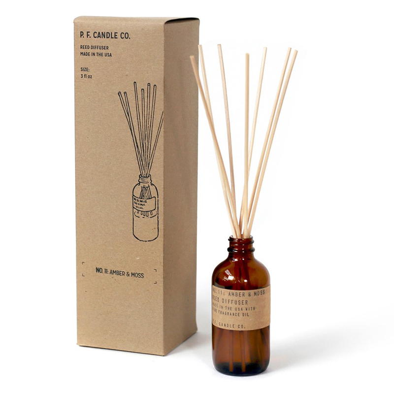 Amber and Moss Reed Diffuser