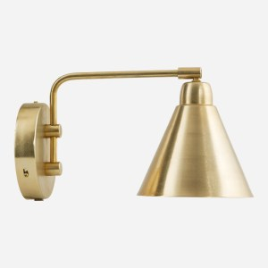 Game Wall Lamp Single Arm Brass