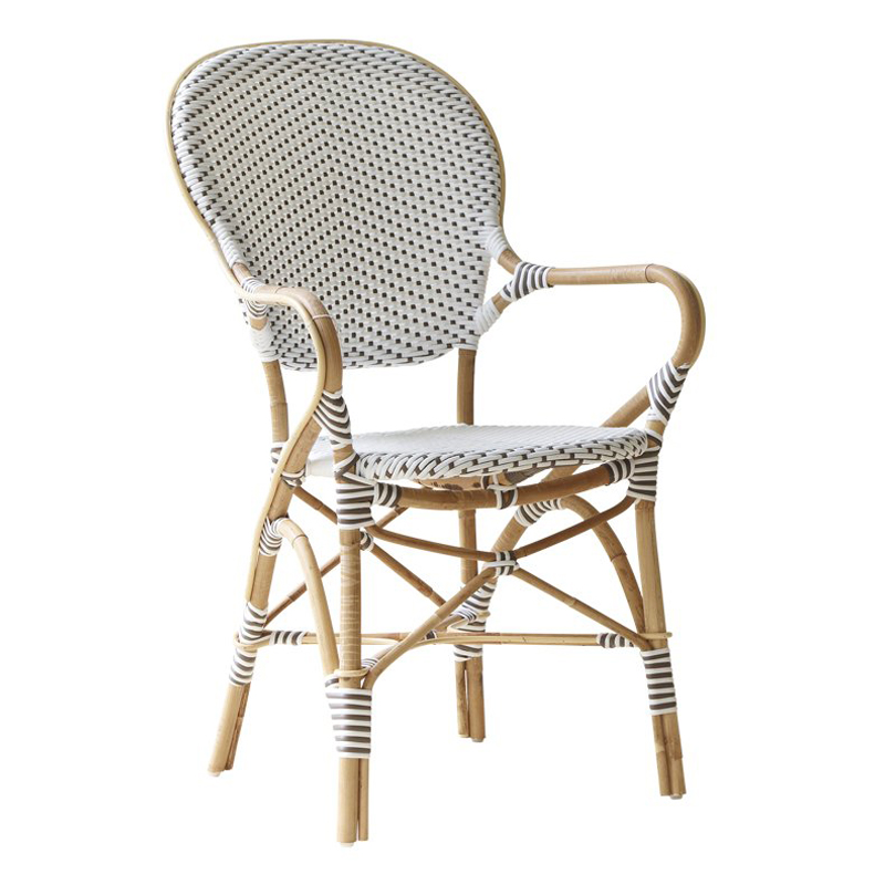 Isabell Armchair White Cappuccino