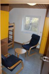 3-Bett-Leiterzimmer mit extra Waschraum
