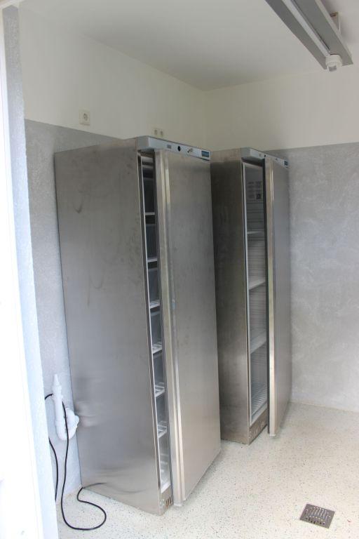 Kühlmöglichkeiten (Kühlschrank und Gefrierschrank)