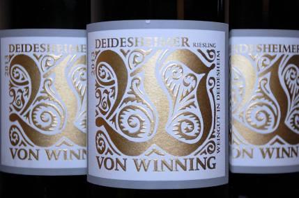 Deidesheimer Riesling - 2013, Von Winning, (C) Stephan Nied