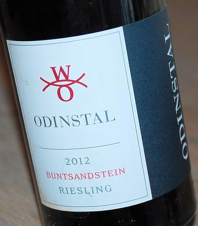 Riesling Buntsandstein 2012, Odinstal