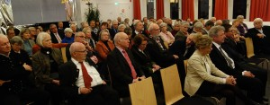 Die aufmerksamen Zuhörer beim ÖNJ-Empfang