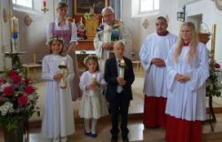 Erstkommunion in Wangen am 14. Mai 2017