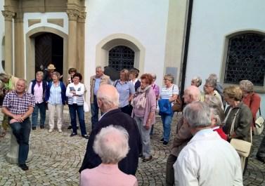 Kirchenpfleger Lorenz und seine Besucher
