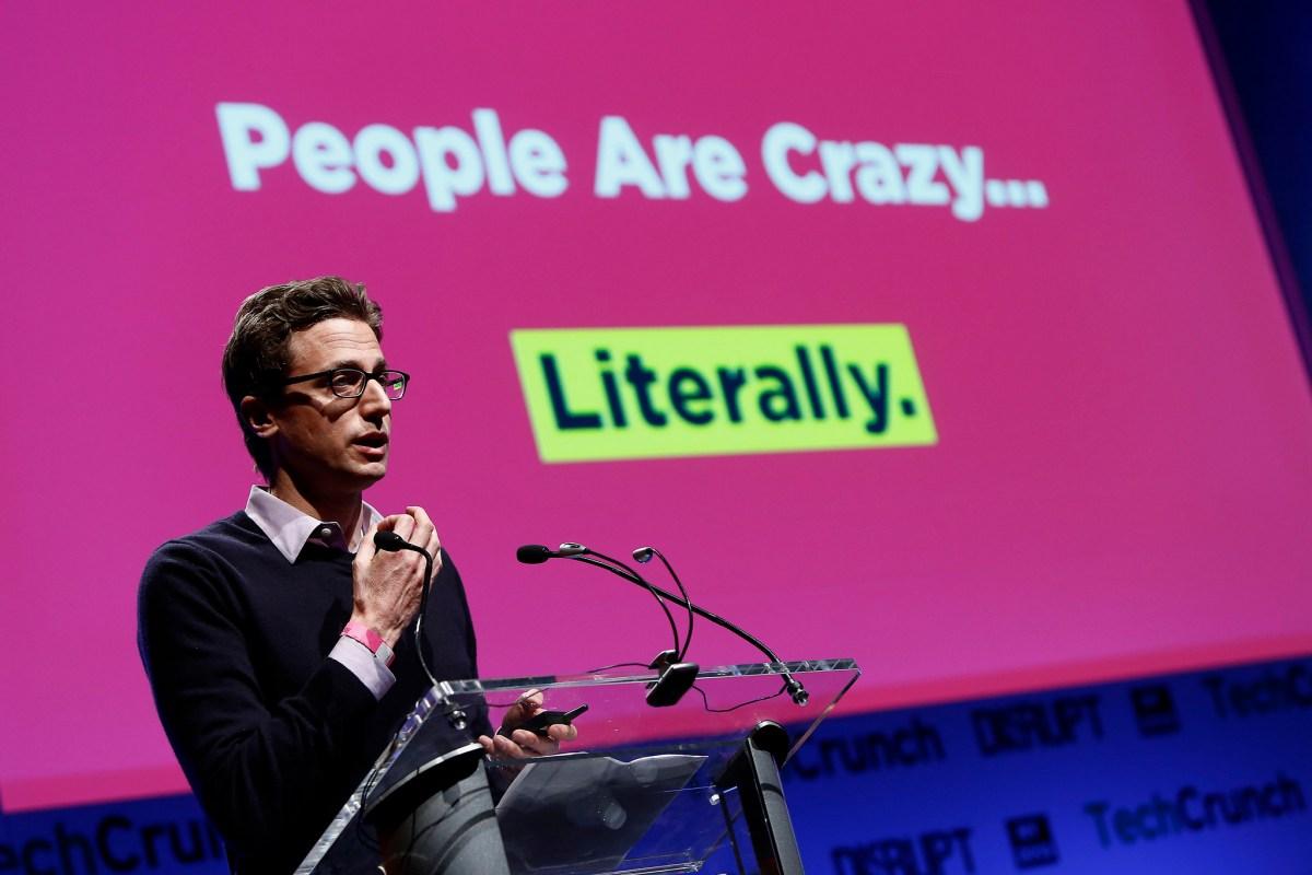 Jonah Peretti van Buzzfeed. Foto: Brian Ach/Getty Images for TechCrunch