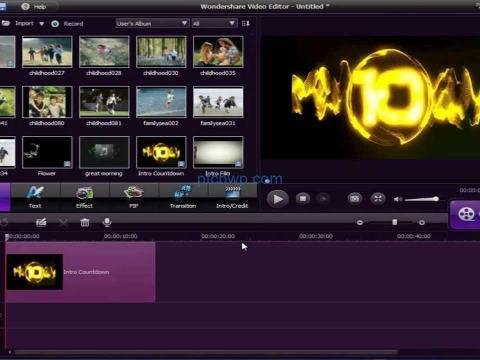 Wondershare Video Editor 9.1.5 Crack Full Version + Registration key