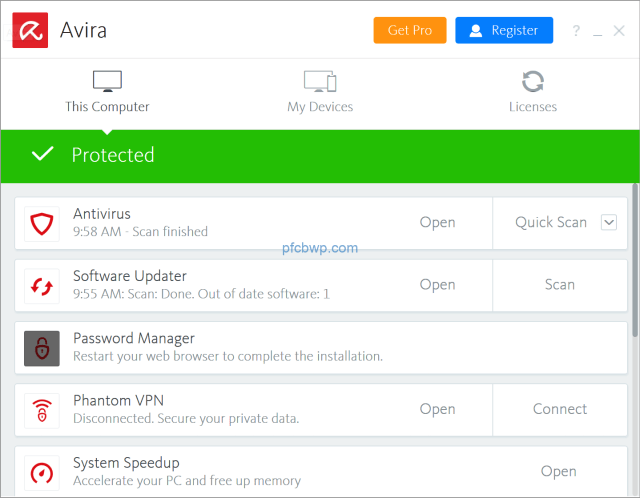 Avira Antivirus Pro 2020 Crack With License Key Free Download