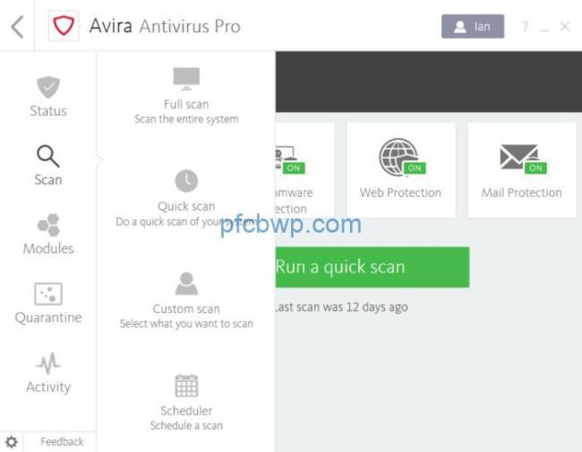 Avira Antivirus Pro 15.0.1907.1514 Serial Key Full Crack