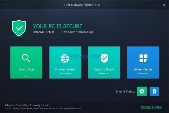 IObit Malware Fighter Pro License With Crack Key Full Download