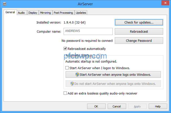 Airserver Universal 5.5.9 Crack With License Download For {Mac + Win}