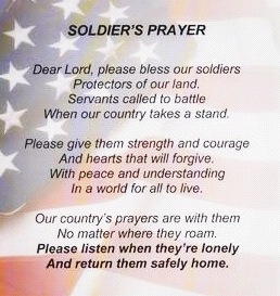 1 Quote Military Poems Soldiers Prayer