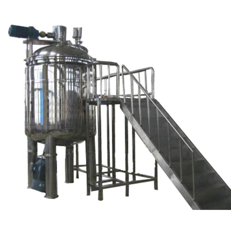 Disinfectant gel liquid mixer