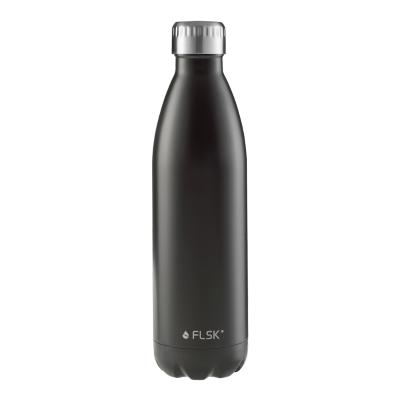 FLSK Trinkflasche 750ml Black