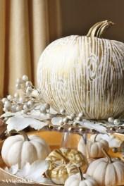 gilded-faux-bois-wood-grain-pumpkin