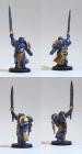 Original-Modell: Champion des Imperators (Black Templars) bemalt nach eigenem Farbschema