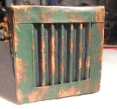 Fertiger Container von hinten