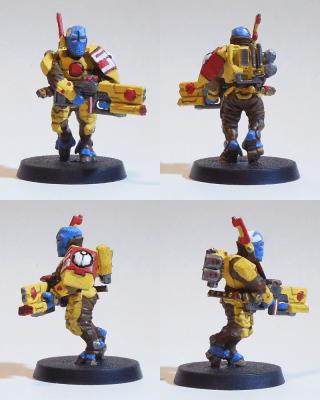 Sergeant einer Tau-Standard-Einheit