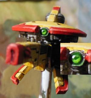 Tau Jagddrohne - Tau Sniper Drone - Kamera und Linse