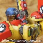 Fireblade - Details - Zopf