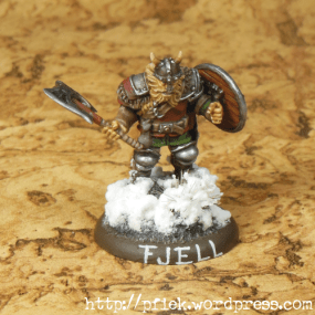 Fjell Warrior Leader - Front1