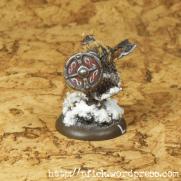 Fjell Warrior Leader - Schild