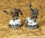 Fjell Warrior Leader und Warsmith