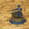 Fertig bemalter Lieutenant der FSA