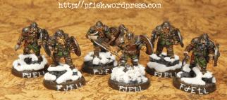Fjell Warriors - vollzählig