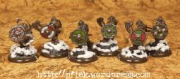 Fjell Warriors - Übersicht der Schildbemalungen