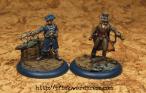Dystopian Legions - FSA - Dr. Orlington & Lieutenant im Vergleich