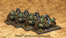 Dystopian Legions - FSA Treadbikes