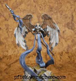 Diorama - Winged Harbinger of Mennoth - Figur, Frontansicht
