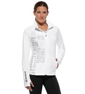 White Reebok Strength Jacket