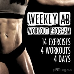 WEEKLY AB WORKOUT