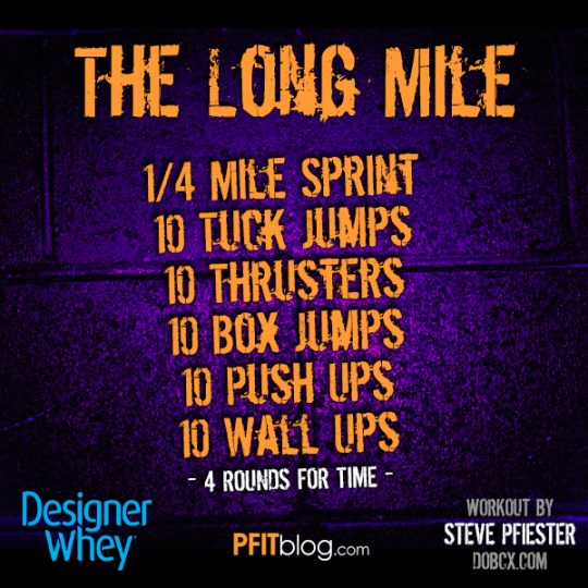 The Long Mile Workout