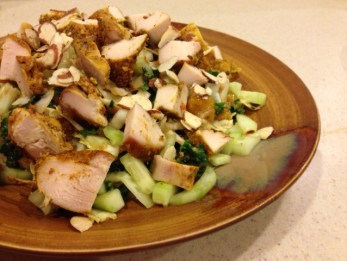 Kabbage & Kale Asian Salad
