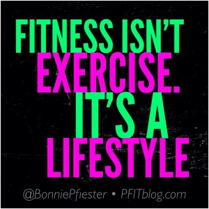 fitness isn't exercise