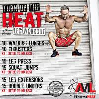 Fat-Burning Leg Workout
