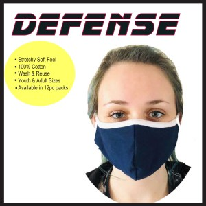 Defense Face Masks- Made in the USA