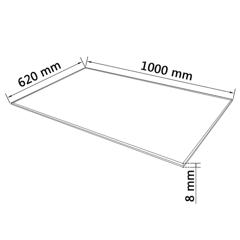 Tempered Glass Table Top Dining Coffee Table Protector