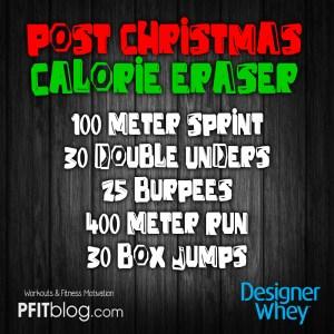 DW post christmas workout