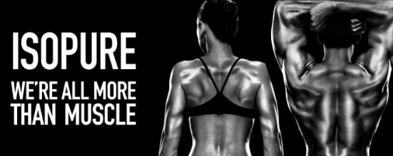 Isopure Behind the Muscle