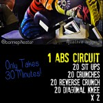 cardio and core workout PINTEREST