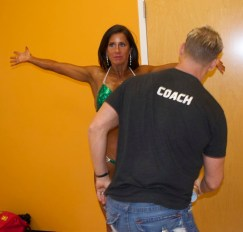 backstage bikini competitor