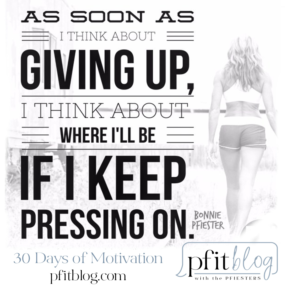 keep pressing on