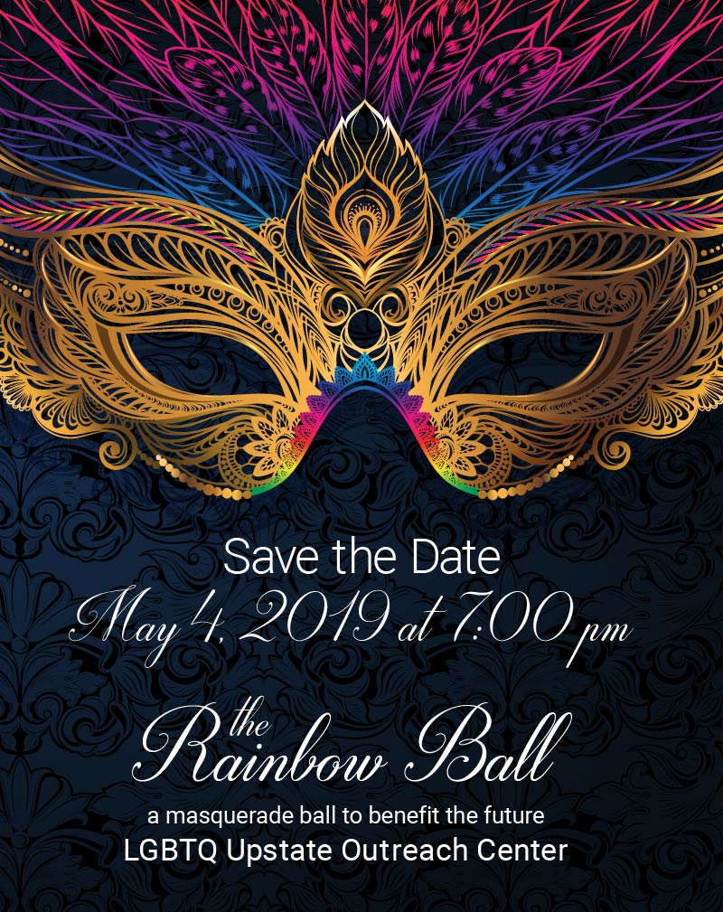 Save the Date for PFLAG Spartanburg's Rainbow Ball