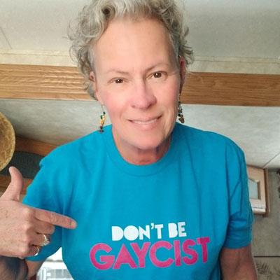 PFLAG Vice President Deb Foreman