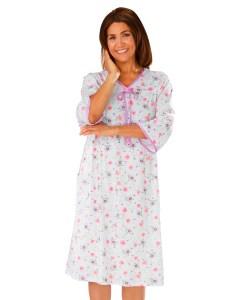 *RoseT* Damen Pflegenachthemd